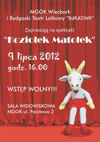Koziołek Matołek - Teatr Lalek Buratino, Bydgoszcz